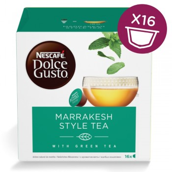 Marrakesh Style Tea Capsule Dolce Gusto