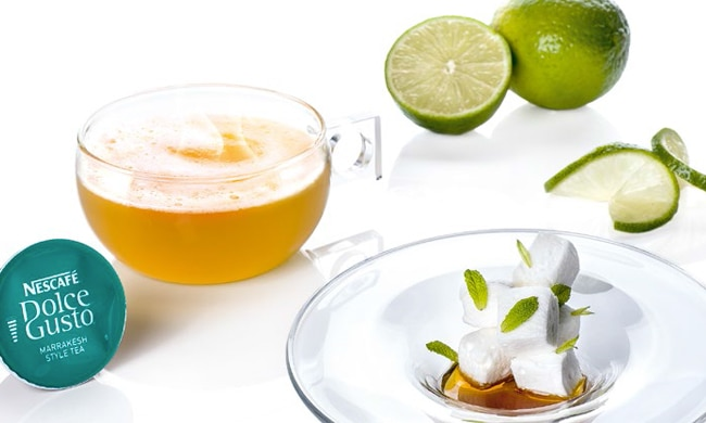 Mousse Lime Tea